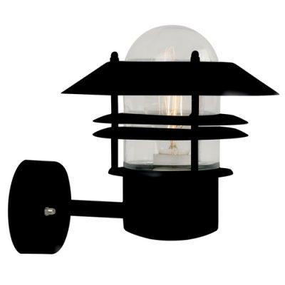 Blokhus Black Outdoor Wall Light