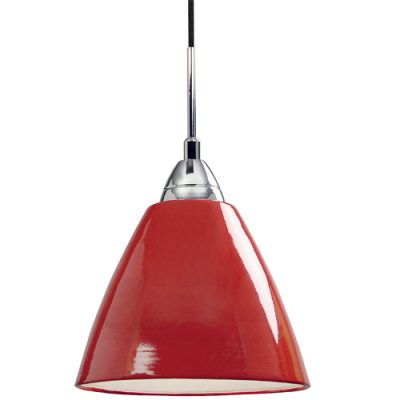 Read Maxi Red Pendant Light