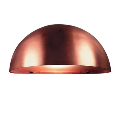 Scorpius Copper Outdoor Wall Light