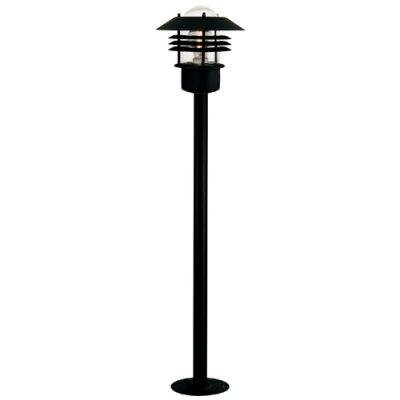 Vejers Black Bollard Light