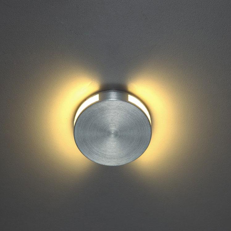 Halo Round Recessed Led Wall Light 1 Watt Led Led Step Lights