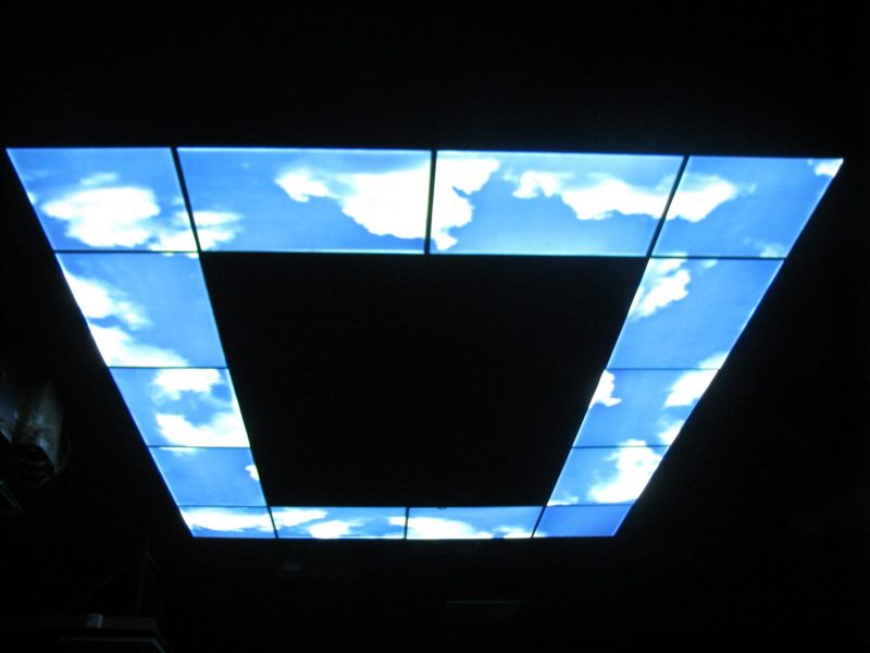 1200x600 LED Sky Panel Architectural Lighting Feature