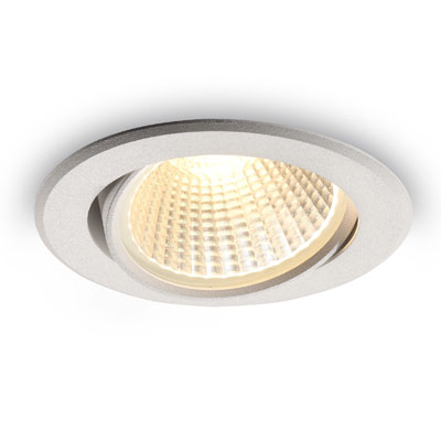 LDC927 white 9 watt LED downlight