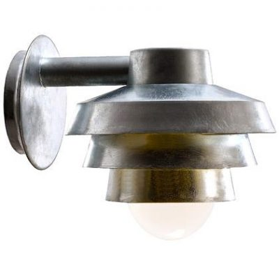 ELEMENTS 22 DOWN GALV OUTDOOR WALL LIGHTS