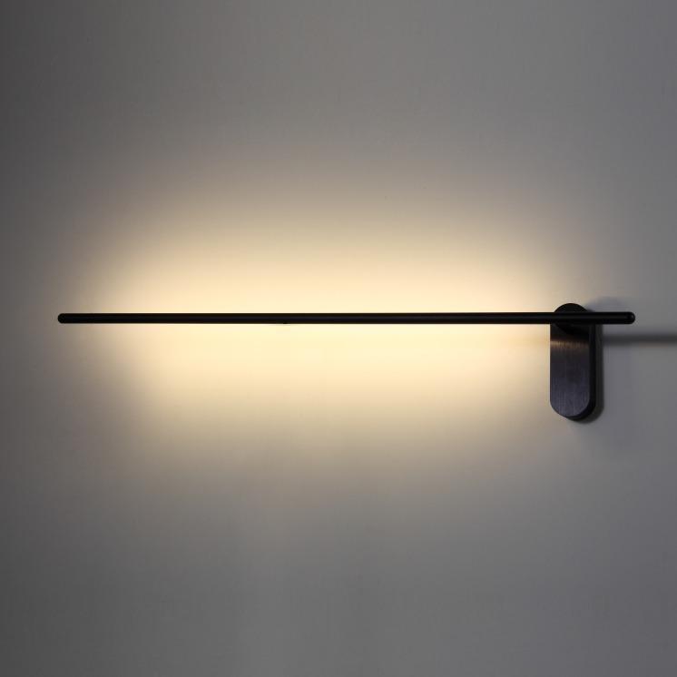 LWA243 Black 10 Watt LED Wall Light Ultra Beam Lighting