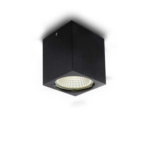 5 watt black surface LED downlight
