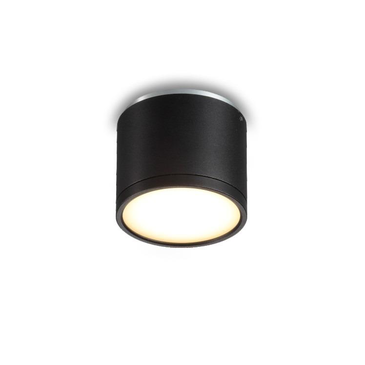 9 watt black surface mounted downlight interior led. Black Bedroom Furniture Sets. Home Design Ideas