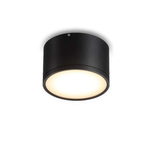 13 watt black surface mounted LED downlight
