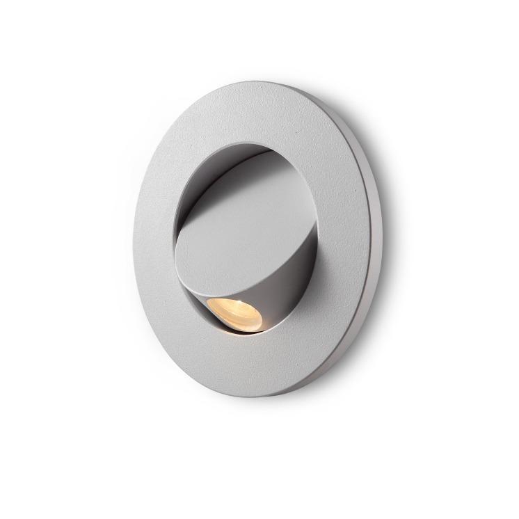 LED reading light Elegante Round White Finish