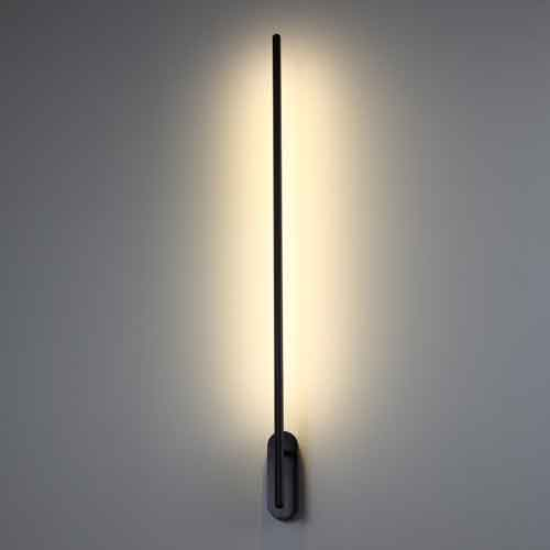 Lwa243 Black 10 Watt Contemporary Led Wall Lights Interior Lighting