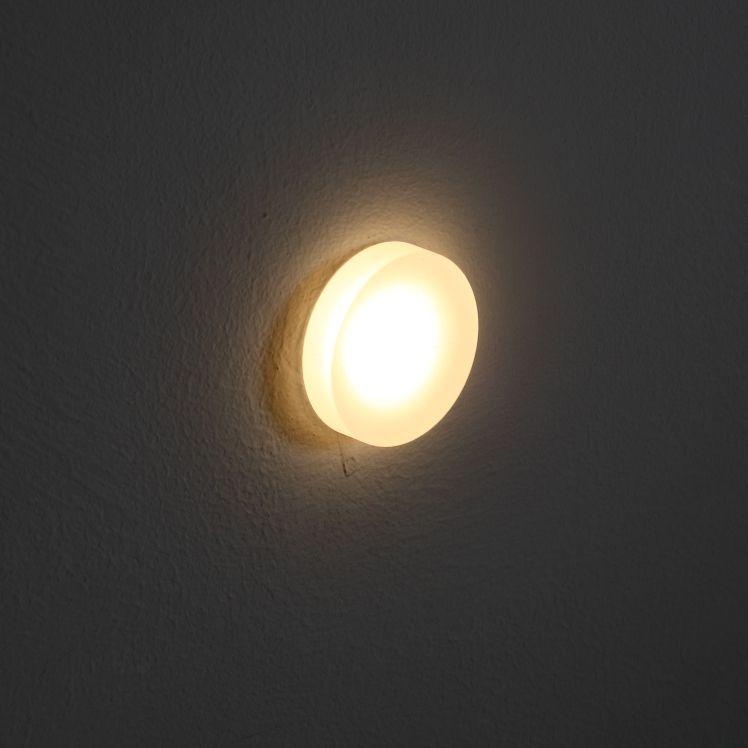 LSL009 Round 1 Watt Acrylic Recessed LED Wall Light