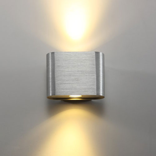 Beam 2 Internal Wall Lights 2 Watt Up And Down Interior Wall Light Fitting