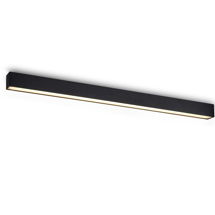 Black Linear Light Fittings For Modern Style