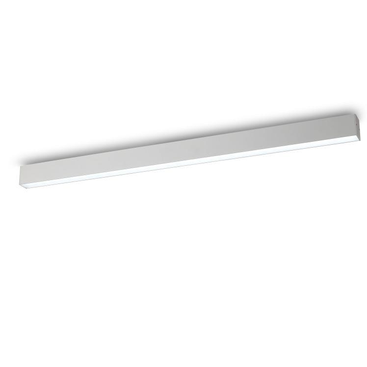 lbl116 20 watt white linear led ceiling light surface. Black Bedroom Furniture Sets. Home Design Ideas