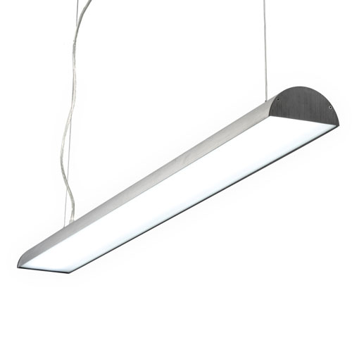 LPL161-SL 40 Watt silver LED pendant lamp