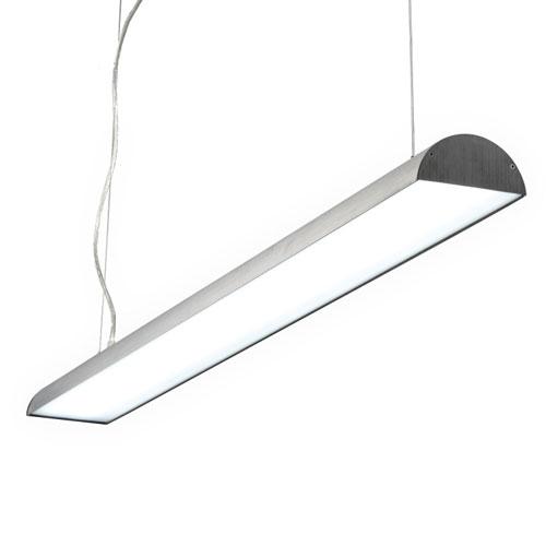 LPL161-SL 40 Watt silver LED pendant lamp
