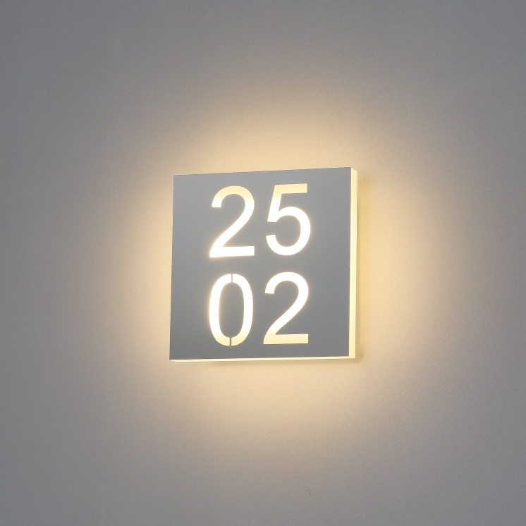 6 watt LED hotel room numbers