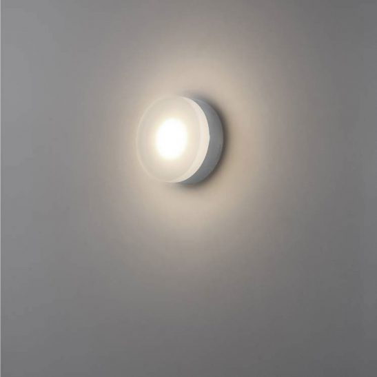 LWA342 6 watt polished chrome LED Bathroom wall light