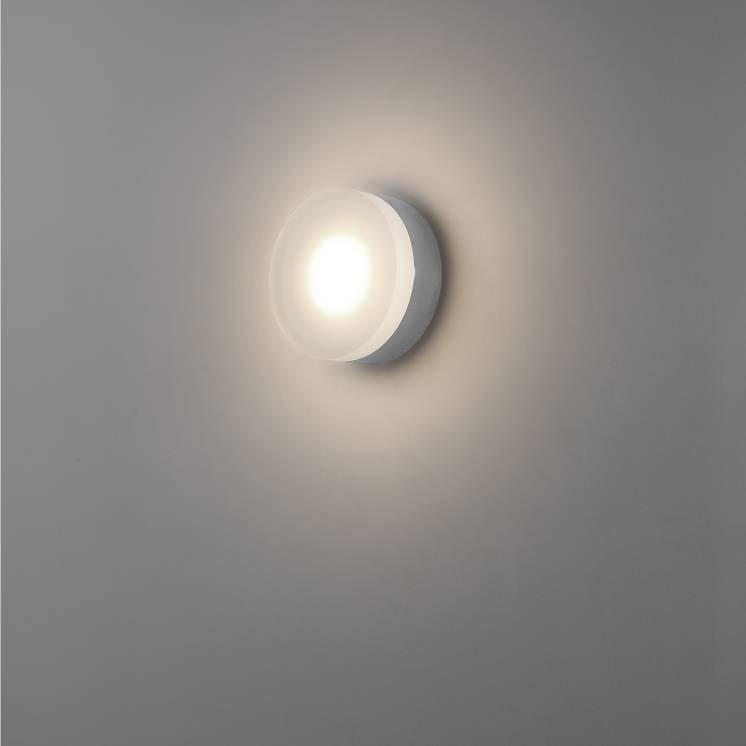 LWA342 6 watt polished chrome LED Bathroom wall light