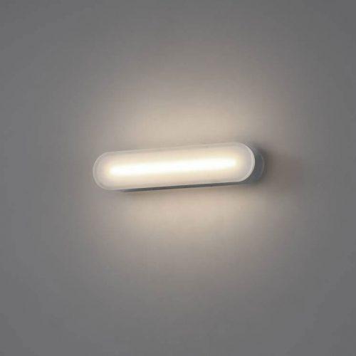 LWA344 polished chrome LED bathroom wall light