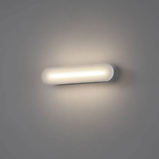 LWA344 polished chrome LED bathroom wall light