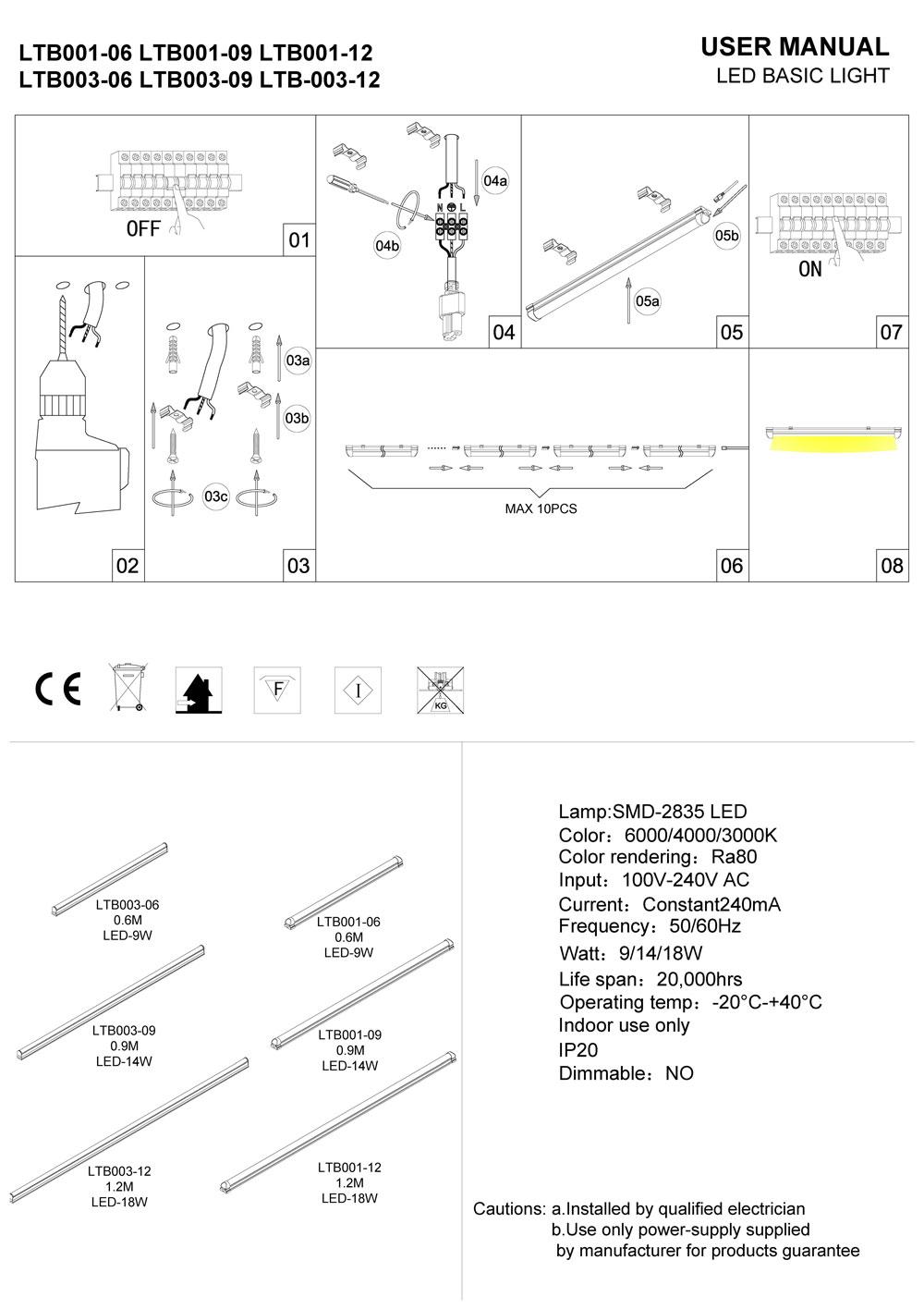LTB003-undercabinet-light-installation guide