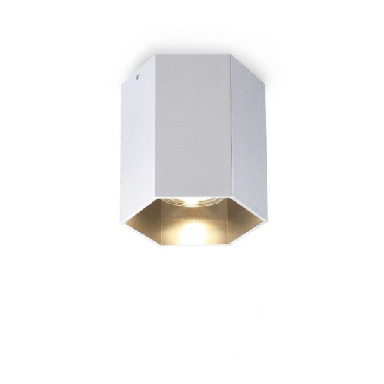 LBL251-SL 5 watt hexagonal surface mounted LED downlight