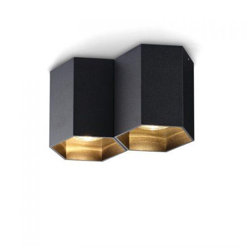 LBL252-BK 10 watt black surface mounted LED downlight