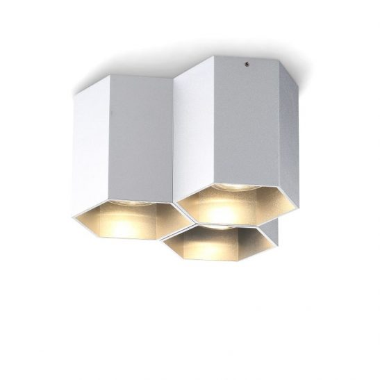 LBL253B-SL 15 watt silver surface mounted LED downlight