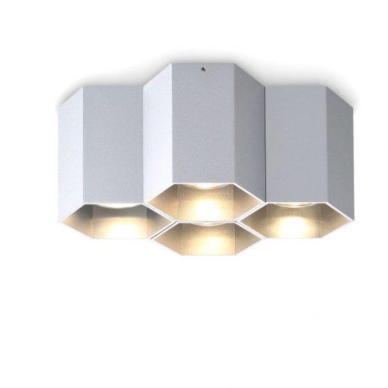 LBL254-SL 20 watt silver surface mounted LED downlight