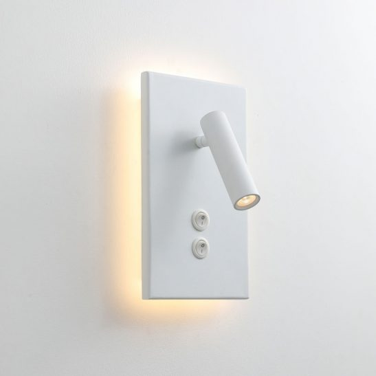 LWA334S-WT modern wall mounted bedroom reading light