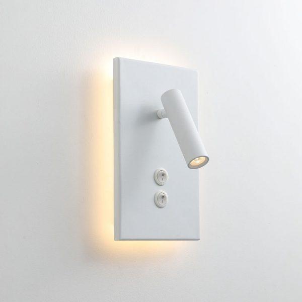LWA334S-WT modern wall mounted bedroom reading light