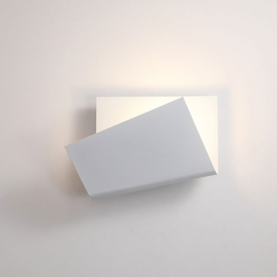 LWA377 white modern interior LED wall light