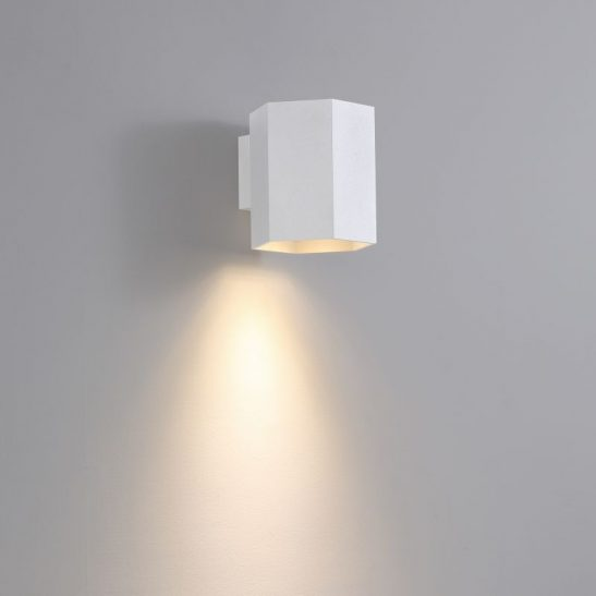 LWA387-WT 5 watt white interior LED wall light