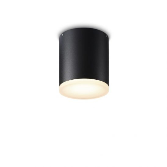 LBL249 Round black IP65 12 watt Black LED downlight