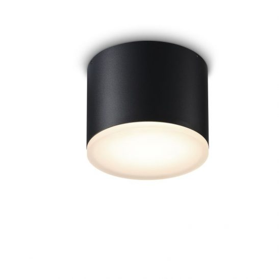 LBL250 Round black 20 watt IP65 surface mounted downlight