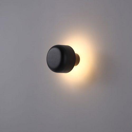 LWA380 6 watt domed outdoor LED wall light