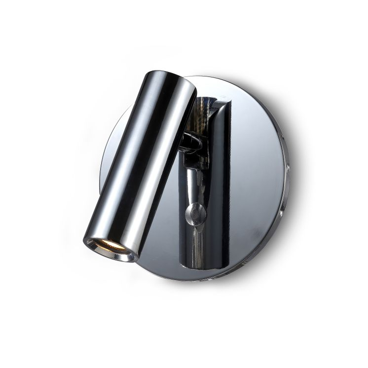 LWA260-CR 3 watt polished chrome recessed LED reading light