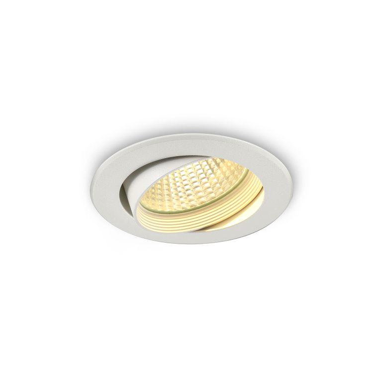 LDC927A-WT 9 watt white recessed LED downlight