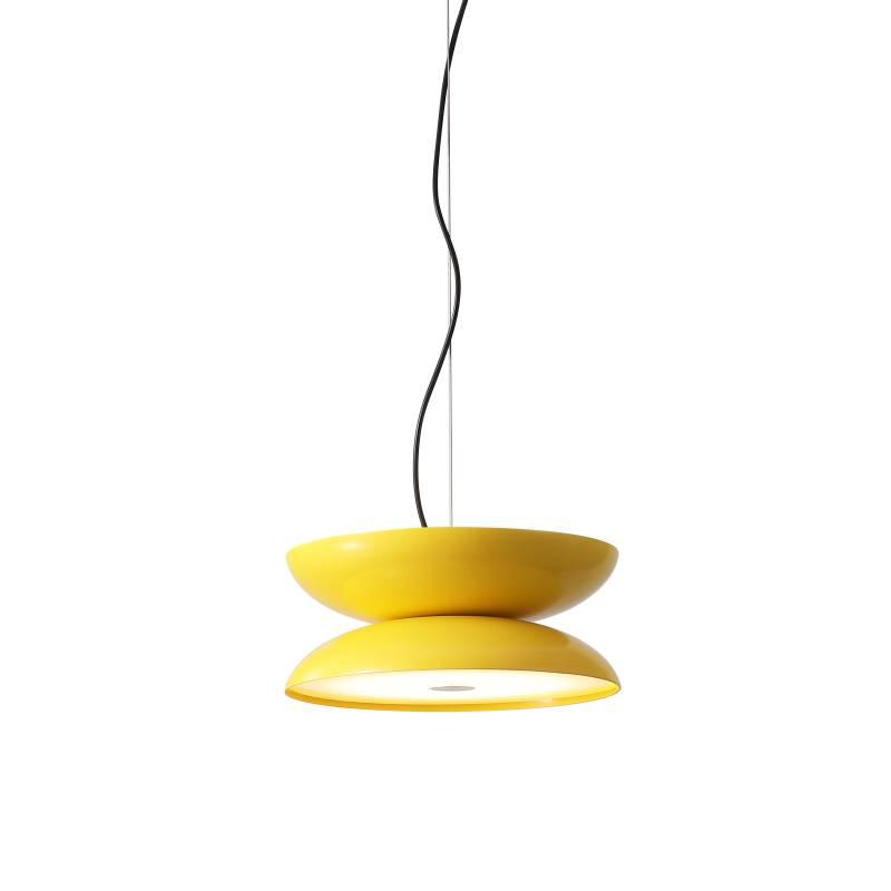 LPL335-YW 20 watt round yellow LED pendant light fitting