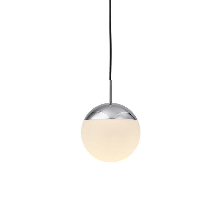 LPL354-CR 6 watt polished chrome globe LED pendant light