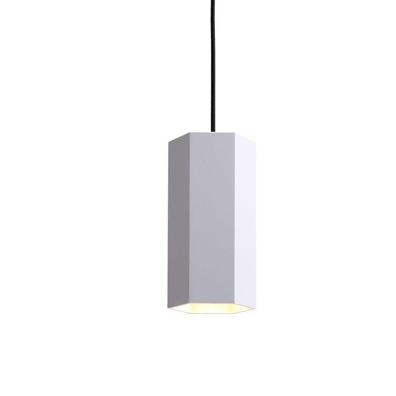 LPL356-WT 5 watt white hexagonal LED pendant light