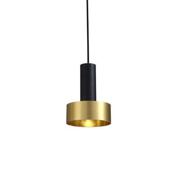 LPL364-GD 5 watt black and gold LED pendant light