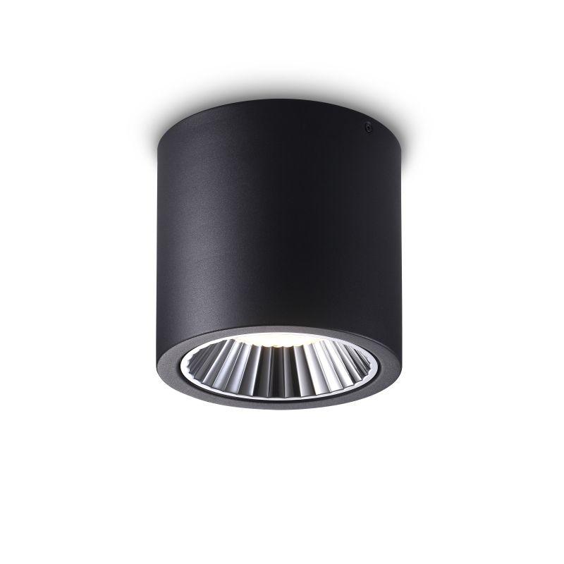 LBL278-BK 42 watt round black surface mounted LED downlight