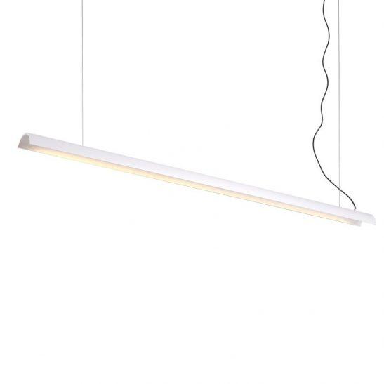 LPL372-WT 17 watt white linear pendant ceiling light