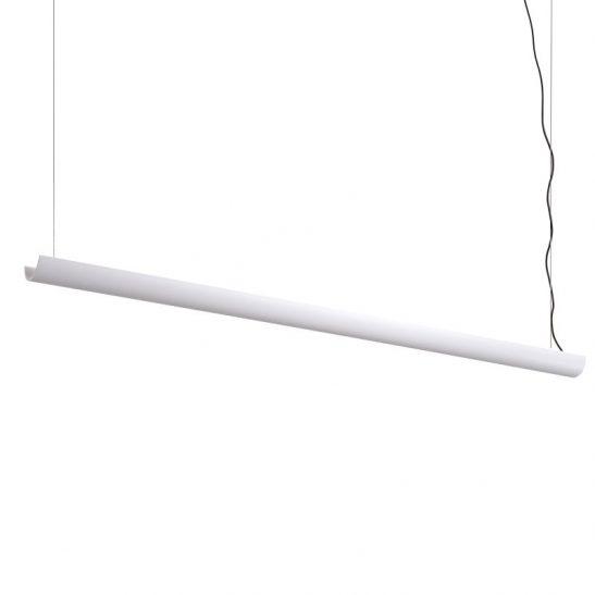 LPL373-WT 17 watt white LED uplighter pendant light