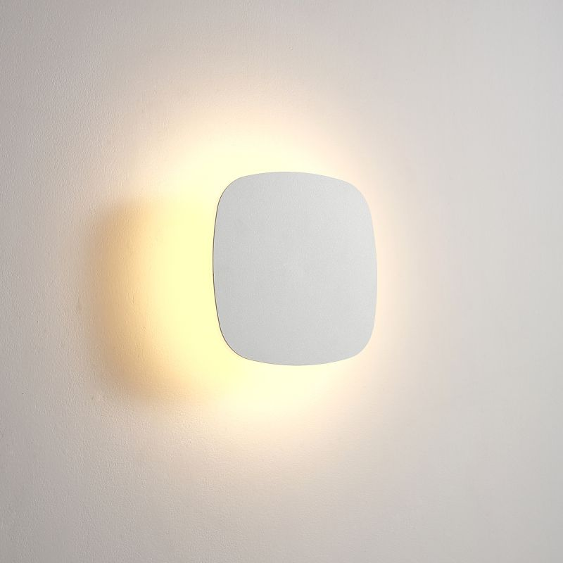 LWA432-WT 6 watt square LED bathroom wall light