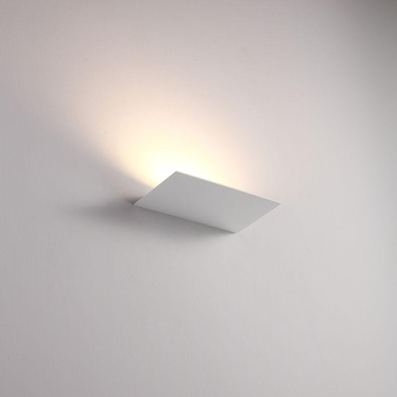 LWA438-WT 12 watt white interior LED Wall washer light